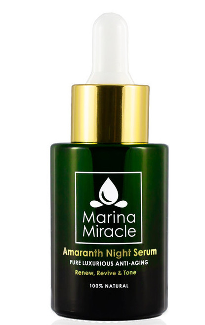 Marina Miracle Amaranth Night Serum, 28 ml