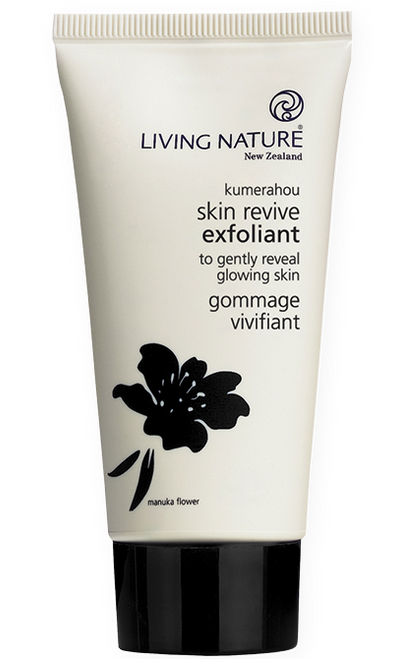 Living Nature Skin Revive Exfoliant, 75 ml