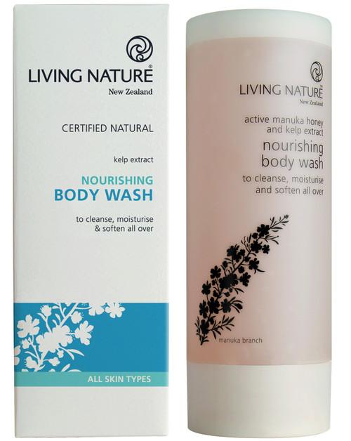 Living Nature Nourishing Body Wash, 200 ml