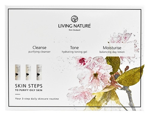 Living Nature Skin Steps - To Purify Oily Skin