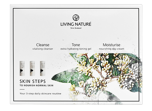 Living Nature Skin Steps - To Nourish Normal Skin