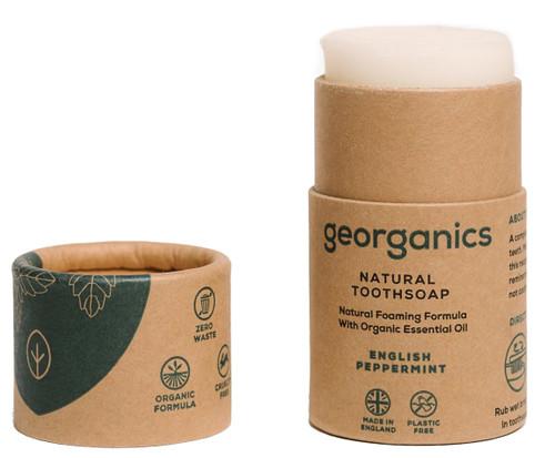 Georganics Naturlig Tannsåpe (tannkrem), Peppermynte 60 ml