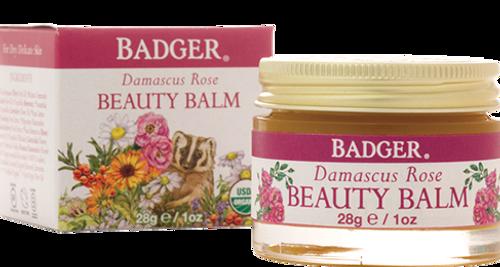Badger Damascus Rose Beauty Balm, 28 gr