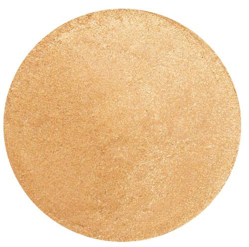 Øyeskyggen du ser på nå heter Gold. Denne skyggen gir deg en diskret touch av glød på dagtid eller et mer glamorøst skinn på kveldstid.