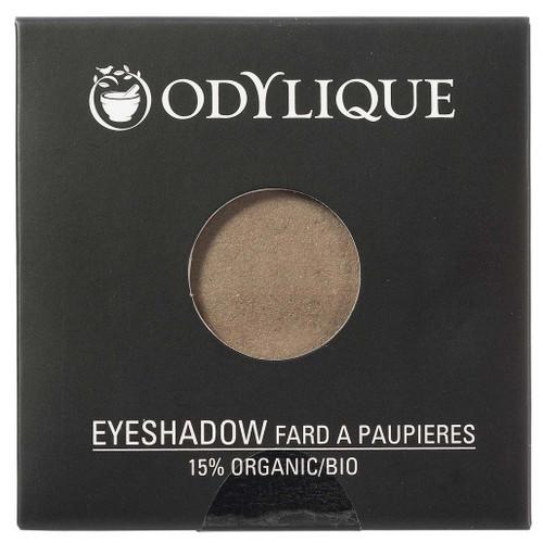 Odylique Økologisk Øyeskygge, Bark en rik og matt brunfarge som er fin til å fremheve og skape dybde. Kan også brukes på øyebryn. Øyeskyggene er laget fra rene mineralfarger, hudpleiende planteoljer og antioksidantekstrakter soom ringblomst, kamomille og tindved. De naturlige øyeskyggene kan brukes av alle hudtyper, også sensitiv og moden hud.