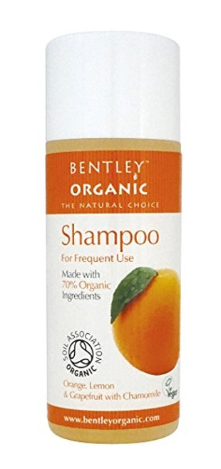 Bentley Orange & Grapefruit sjampo for hyppig bruk, 50 ml