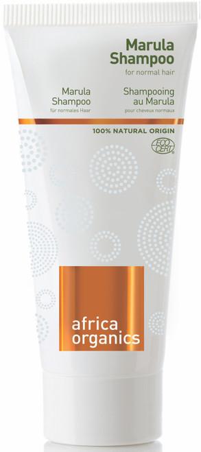 Africa Organics Marula Shampoo for normalt og fett hår, 40 ml