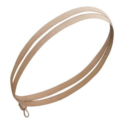 Kooshoo Aurea Økologisk hårbånd uten plast, taupe