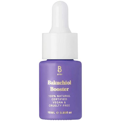 BYBI Beauty Bakuchiol Booster BYBI er en alternativ retinol, vegansk og helt naturlig booster. Som gir strammere og fastere hud. Motvirker rynker, antiaging og aldringstegn.