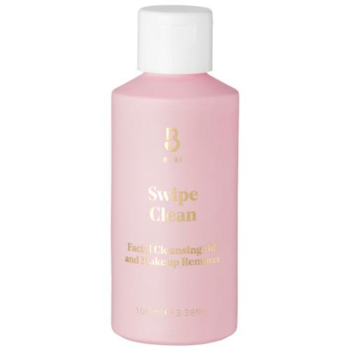 BYBI Beauty Swipe Clean BYBI er en helt naturlig og vegansk oljerens. Cleansing oil med helt naturlige ingredienser. Ansiktsrensen skummer lett og er for alle hudtyper.