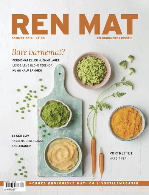 Magasinet Ren Mat - Sommer 2019