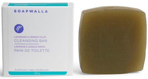 Soapwalla Lavender Soap Bar, 110 gr