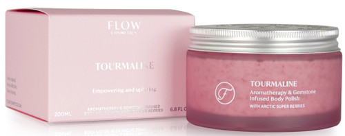 FLOW Tourmaline Body Polish 200ml