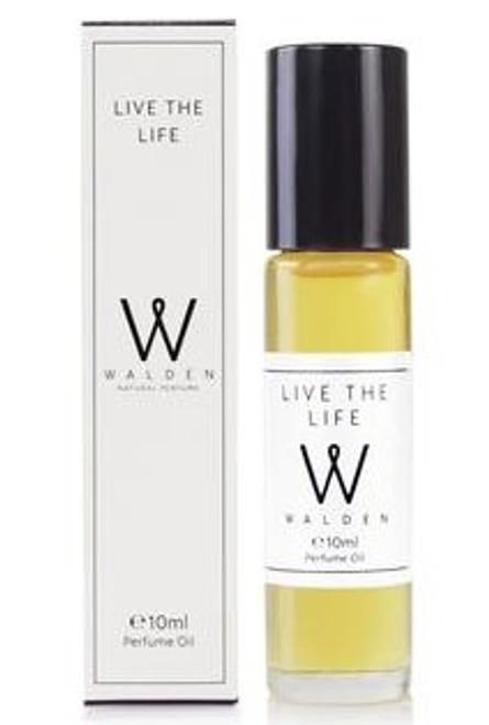 Walden Live the Life Prefume Oil, 10 ml