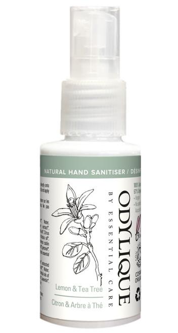 Odylique Hand Sanitiser Lemon and Tea Tree, 30 ml