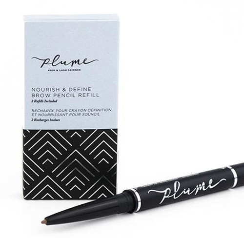 Plume Refill Nourish & Define Brow Pencil (2 pk)