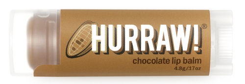 HURRAW! Lip Balm Chocolate, 4.8 gr