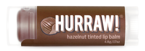 HURRAW! Tinted Lip Balm Hazelnut, 4.3 gr