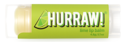 HURRAW! Lip Balm Lime, 4.3 gr