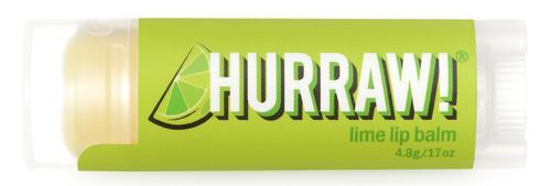 HURRAW! Lip Balm Lime, 4.8 gr