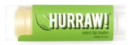 HURRAW! Lip Balm Mint, 4.3 gr