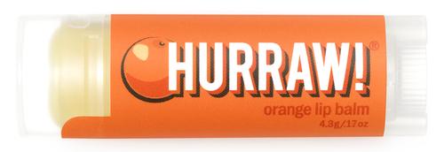 HURRAW! Lip Balm Orange, 4.3 gr