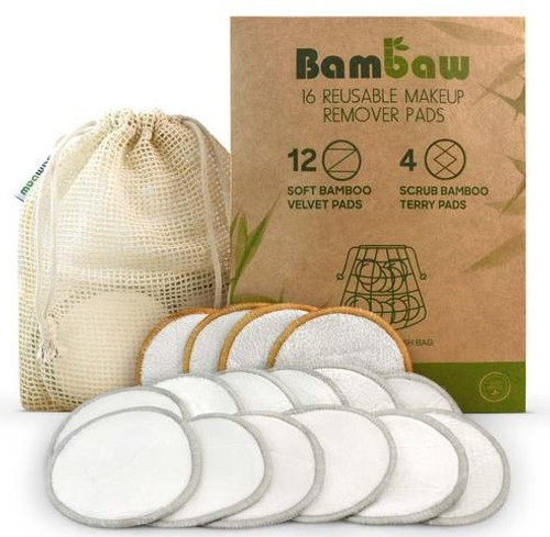 Bambaw Make-up Remover pads, 16pk