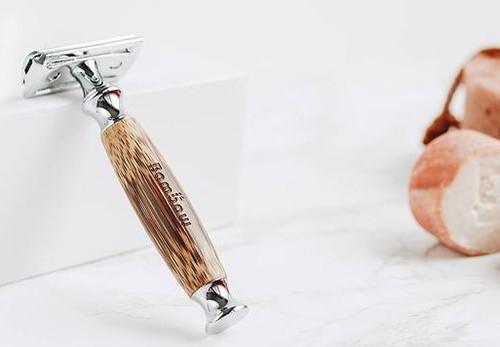 Bambaw Barberhøvel med bambus