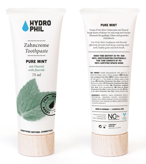 HYDROPHIL Pure Mint Tannkrem, 75 ml