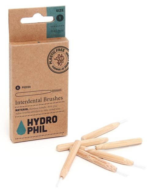 HYDROPHIL Mellomromsbørster, 6 pk
