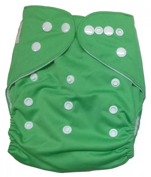 Beaming Baby Tøybleier (lommebleie), grønn