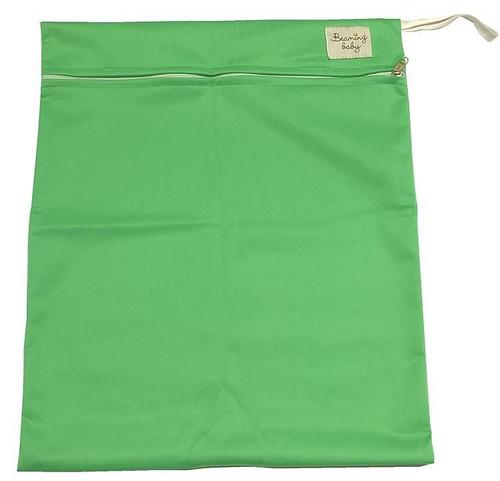 Beaming Baby Vaskbar våtpose med enkel lomme, Grønn