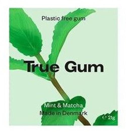 TRUE GUM Mint-Plastfri Tyggis, 21g