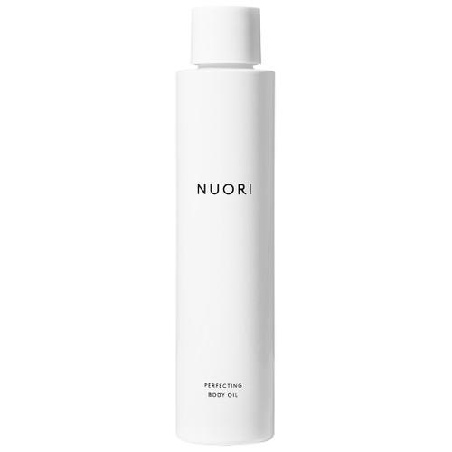 NUORI Perfecting Body Oil er en naturlig kroppsolje som trekker lett inn. Inneholder økologisk nypeolje.