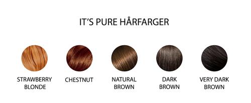 It's Pure Hårfarge Dark Brown, 110g