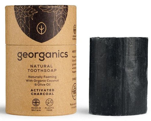 Georganics Naturlig  Tannsåpe (tannkrem), Charcoal 60 ml