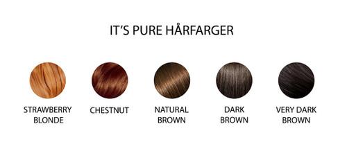 TESTER!  It's Pure Hårfarge Dark Brown, 10g