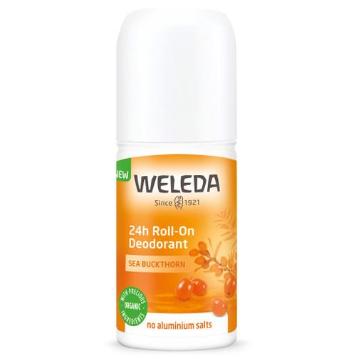Weleda Sea Buckthorn 24h Roll-on Deodorant er en naturlig deodorant med tindved og uten aluminium.