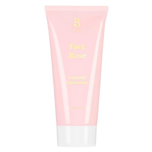 BYBI Beauty Face Base er en lett dagkrem med naturlige og veganske ingredienser. Passer til alle hudtyper, spesielt god til sensitiv og irritert hud. Skreddersy din egen fuktighetskrem med å blande denne med olje eller serum. Helt uten parfyme og essensielle oljer.