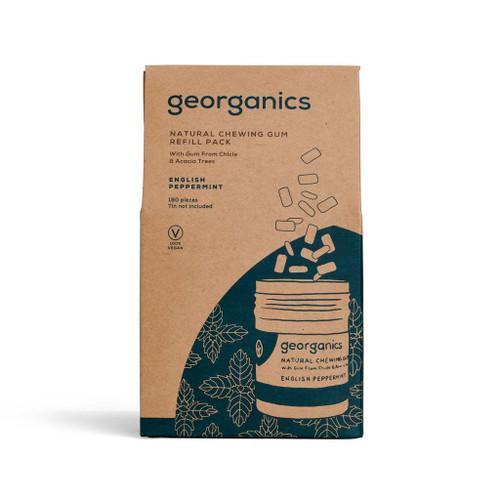Plastfri tyggis fra Georganics - refill