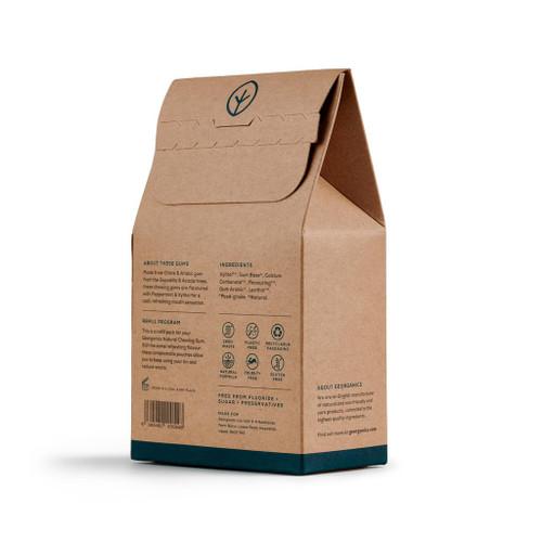 Georganics Peppermint-Plastfri Tyggis - REFILL, 180stk