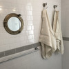 Oyster Belgian Linen Towel Bath Sheet