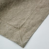 Linoto linen bath sheet fabric detail ecru