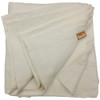 Ivory flat sheet by Linoto. Made in Westchester County New York from Italian linen
