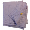 Lavender Quilted Linen Coverlet