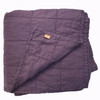 Thistle Quilted Linen Coverlet