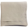 Linoto organic linen duvet cover. Made from GOTS certified organic Belgian linen. Made in USA.