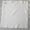Linen napkins 21 inches by 21 inches