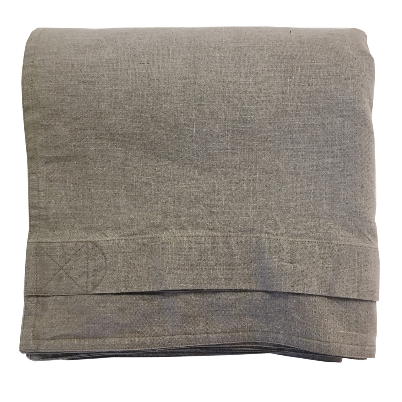 acfb5b8836a Pure Linen Duvet Cover Hand-Made in USA Buttons, Corner Ties