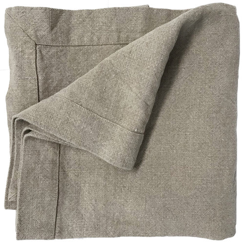 Linen towel in ecru